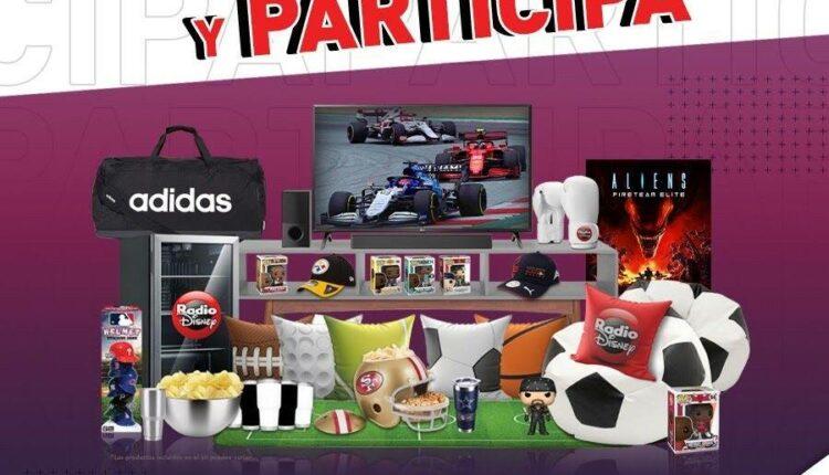 Concurso Star+ Radio Disney: Gana una smart TV + kit deportivo