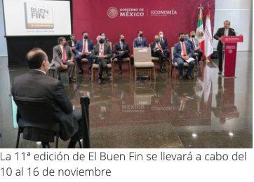 Sorteo Fiscal El Buen Fin 2021 con $500 millones de pesos en premios