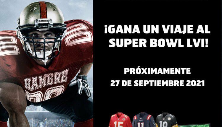 Promoción Snickers NFL Tacklea tu Hambre: Gana pantallas de 75″, PS5, viaje al Super Bowl y más en snickers.com.mx