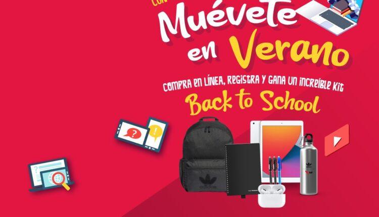 Concurso TAF Muévete en Verano: Gana 1 de 3 kits con iPad + Airpods + mochila Adidas y más en taf.mueveteenverano.com.mx