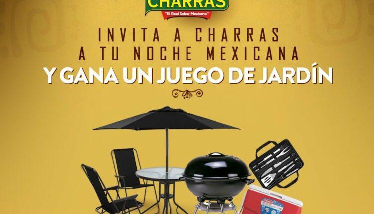 Concurso Tostadas Charras Noche Mexicana: Gana un juego de jardín y un kit para asador