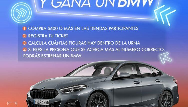 Promoción Town Square Metepec 2021: Gana un auto BMW