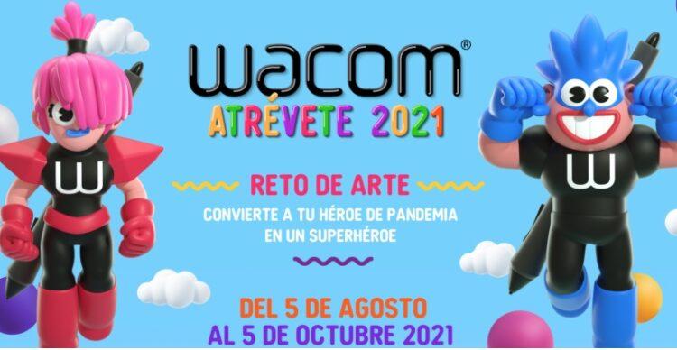Reto de Arte Wacom Atrévete 2021: Gana tabletas gráficas y más