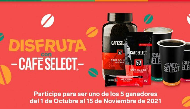 Promoción 7-Eleven Disfruta con Café Select: Gana una cafetera Ninja y más