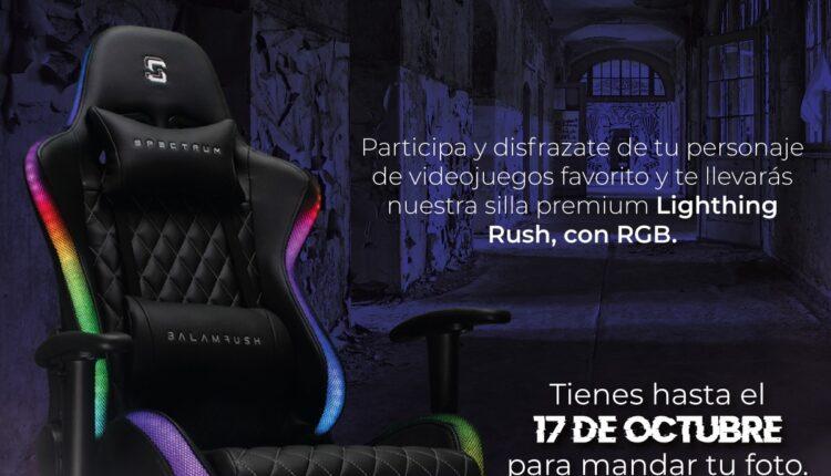 Concurso Silla o Truco de Balam Rush: Gana una silla gamer Lighting Rush