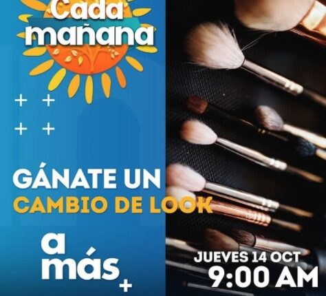 Concurso Cada Mañana TV Azteca: Gana un cambio de look cada día
