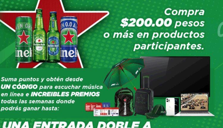 Promoción Chedraui y Heineken la Carrera más Esperada: Gana pantalla, iPhone y más en ganaconchedraui.com