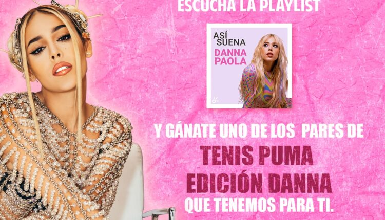 Gana 1 de 2 pares de tenis Puma de Danna Paola cortesía de Claro Música