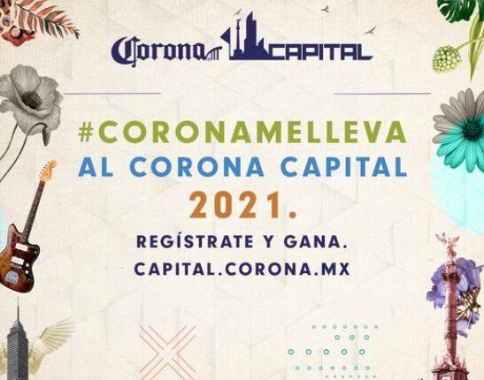 Trivia Corona Capital 2021: Gana boletos gratis al Festival Corona Capital en capital.corona.mx