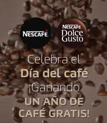 Concurso Día del Café: Gana un año de café gratis cortesía de NESCAFÉ Dolce Gusto