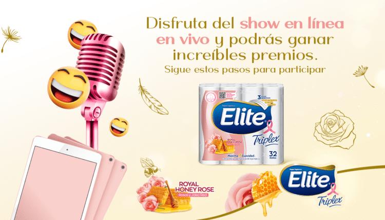 Promoción Elite Un Toque de Suavidad: Gana 1 de 3 iPads en eliteuntoquedesuavidad.com
