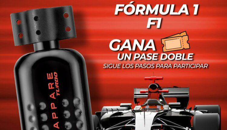 Concurso Scappare TURBO: Gana un pase doble al GP de México de la Fórmula 1