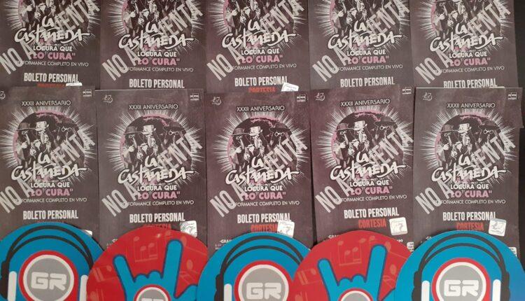 Gana boletos para el concierto de La Castañeda cortesía de Grita Radio