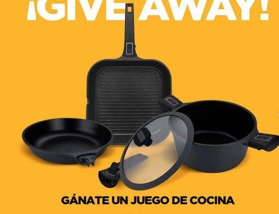 Giveaway JimenaChoco: Gana un juego de cocina Vasconia