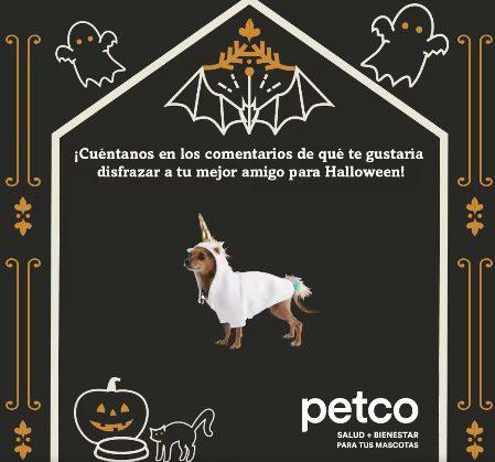 Petco Concurso de Disfraces de Halloween 2021: Gana un kit para tu mascota