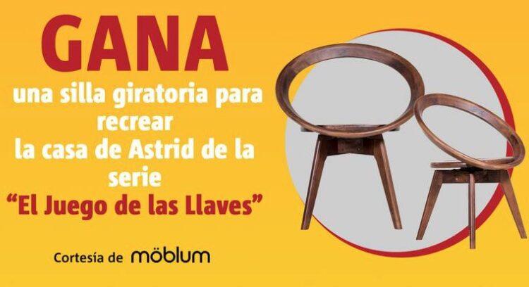 Concurso Publimetro El Juego de las Llaves: Gana una silla giratoria cortesía de möblum