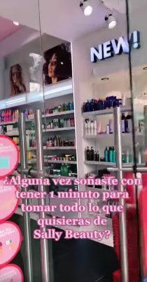 Concurso Sally 20 Años: Gana viaje a Monterrey y todo lo que te puedas llevar en 1 minuto en tienda